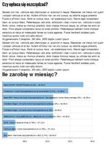 wygląd strony z wykresem Comperia Analytics